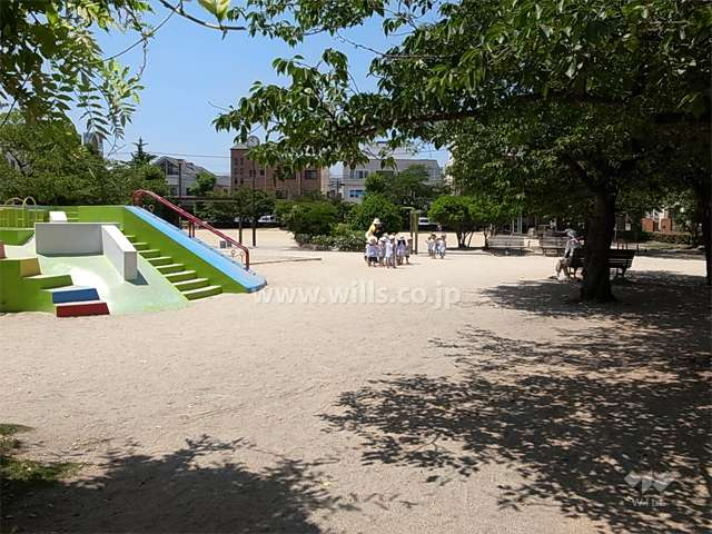 八ツ松公園1