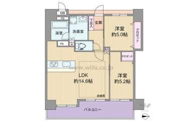 ラウロ相川リーヴァ2650万円:間取り図