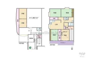 アミング潮江アネックス12800万円:間取り図