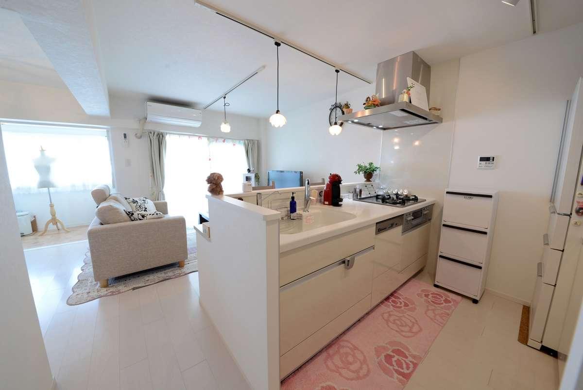 白基調で、明るく可愛らしい部屋にリフォーム|ウィル空間デザイン